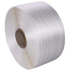 1 Rolle Polyester-Umreifungsband Textilband 19 mm 600 m 590 kp Kraftband PET PP