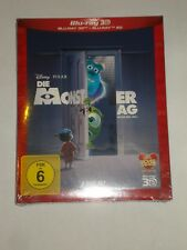 Die Monster AG  3D und 2D  Neu Blu Ray 2 Disc Edition Disney im SCHUBER OVP