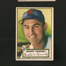 5122* 1952 Topps # 124 Monte Kennedy RB