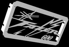 "cache / Grille de radiateur  inox poli Yamaha 600 FZS Fazer design ""Eclair"""