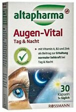 2xPack Altapharma Eye Vital Day & Night-With Lutein Zeaxanthin+ Zinc New Germany
