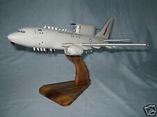 Wedgetail RAAF B737 Wood Airplane Model Regular