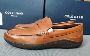 Cole Haan men's MOTOGRAND penny loafer shoes size 11UK