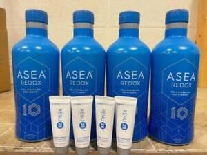ASEA REDOX 10 Year Anniversary 4 bottles +4 renu gift+Free Shipping Exp 2022
