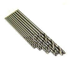 10pcs Mini Pcb Drill 2x07mm 2x08mm 2x10mm 2x12mm 2x14mm Press Drilling Bits