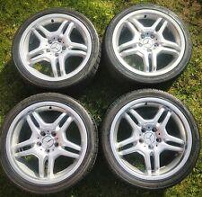 Set Genuine AMG IV Mercedes Alloys Wheels 18 W209 CLK55 W203 17 C55 C43 R230 SL