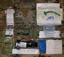Multicam IFAK Newest NAR Trauma Kit Gen7 Tourniquet & QuikClot / Strap Cutter ++