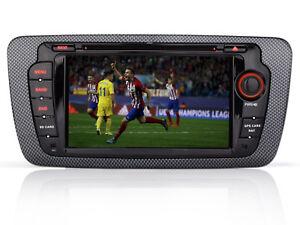 "7"" Autoradio NAVI GPS DVD MP3 USB CD DVR BLUETOOTH AUTO Für Seat Ibiza 2009-2013"