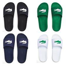 09df6303c Lacoste Croco 119 1 CMA Slide Pool Beach Sandals in Black