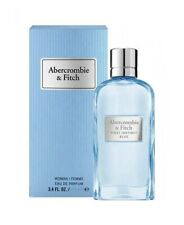 Abercrombie & Fitch First Instinct Blue EDP 100ml Eau de Perfume for Woman New