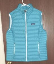 Patagonia Women's Down Sweater Vest Size S Strait Blue NWT $179