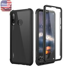 For HUAWEI P30 lite Soft Case Clear Cover Shockproof Built-in Screen Protection
