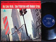 DON PATTERSON BOOKER ERVIN Hip Cake Walk LP PRESTIGE 7349 US '64 RVG Sonny Stitt