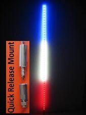 Super Bright Quick Releas 6' LED Light Whip Stick ATV UTV Off Road 3 Color Combo