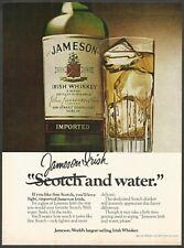 JAMESON Irish Whiskey - 1979 Vintage Print Ad
