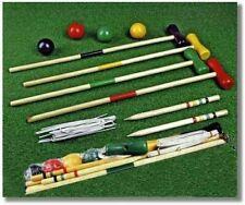 The Magic Toy Shop 4 Player Wooden Croquet Set