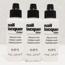 LOT 3 OPI Nail Polish Lacquer Thinner 60 mL - 2 fl oz NTT01 >> SHIP 24H