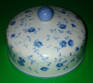 Arzberg 1350 Blaue Aster ** großes Butterdosen-Oberteil ** Butterdosen-Glocke **
