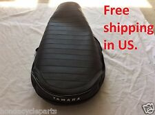 YAMAHA LB80 LB 80 LB50 50 CHAPPY replacement seat cover 1976 to 1981 with Logo