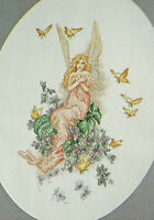 Violet Fairy Enchanting Fantasy Cross Stitch Pattern from a magazine