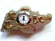 Singapore Letter Holder with Clock