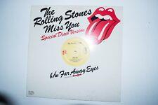 Rolling Stones Vinyl Lp Miss You Special Disco Version/ Far Away eyes DJ release