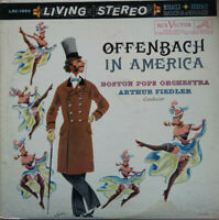 RCA LIVING STEREO LSC-1990 *WHITE DOG* OFFENBACH IN AMERICA *FIEDLER* EX+/EX-