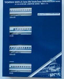Tomix 92870 300 Type Sanyo Tokaido Shinkansen 4 Car Add On N Scale
