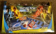 New Beyblade Burst Turbo Slingshock Battle League Championship Clash Battle Set