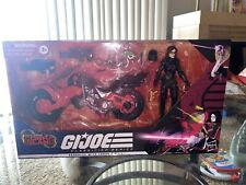 All New G.I. Joe Classified Series Baroness with C.O.I.L.  and Vehicle TARGET