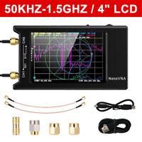 NanoVNA-H4 4'' LCD 50KHz~1.5GHz VNA HF VHF UHF UV Vector Network Analyzer
