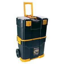 Custodia Strumento mobile con ruote grandi Cassetta Degli Attrezzi Trolley Carrello di Power Tool Storage