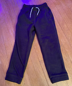 Boys Gap Sweatpants Black Knit Size 5