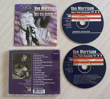 2 CD ALBUM NEW YORK SESSION - MORRISON VAN  18 TITRES CD1 1997 MADE IN ENGLAND