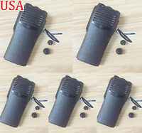 5x Brand new front case Housing cover for Motorola CP200 portable Radio