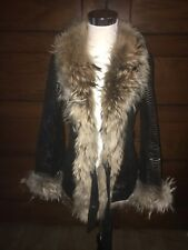 Cache Leather Coat
