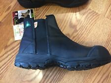 Safety Footwear Black Pull On Boots Size 10