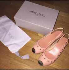 Genuine Jimmy Choo Wedge Sandals Size 39