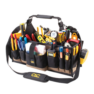 "CLC 1530 - 23"" Electrician's Mechanic Maintenance 43 Pocket Tool Box Bag Carrier"