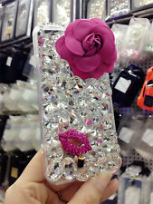 Glitter Luxury Bling Diamonds Crystal hard Back Phone Case Cover For Apple