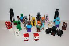 Lego Genuine - Minecraft / Mini Figure - Multiple Variations!