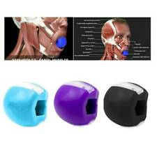 New Silicone JawLine Exerciser Face Fitness Ball Jaw Exercise Facial Toner Tool