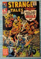 Strange Tales #142 Very Good ( Marvel 1966) Kirby/Ditko art!!