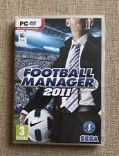 Fußball Manager 2011 Sega (PC Mac und PC, 2010) Sports Interactive Komplett