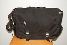 "Timbuk2 Laptop Messenger Bag Black 17"" wide XL"