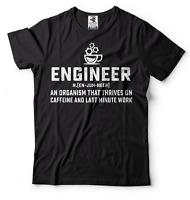 Engineer T-shirt Funny Engineer Coffee Tee shirt Christmas Gift Engineering Tee