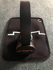 SOL Republic Tracks V10 Headphones - Colorware 1/1 Orange on Black Tron Rinzler