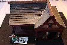 Construcción De Paisaje Cottage Warhammer 40k ESCENOGRAFIA Fantasía Sigmar Japón Japonés