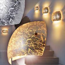 LED Wandlampe Design Flur Leuchten silberfarben Wand Strahler Wohn Zimmer Lampen