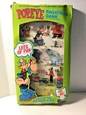Vintage POPEYE cartoon comic bagatelle pinball Game 1975